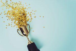 trophées or