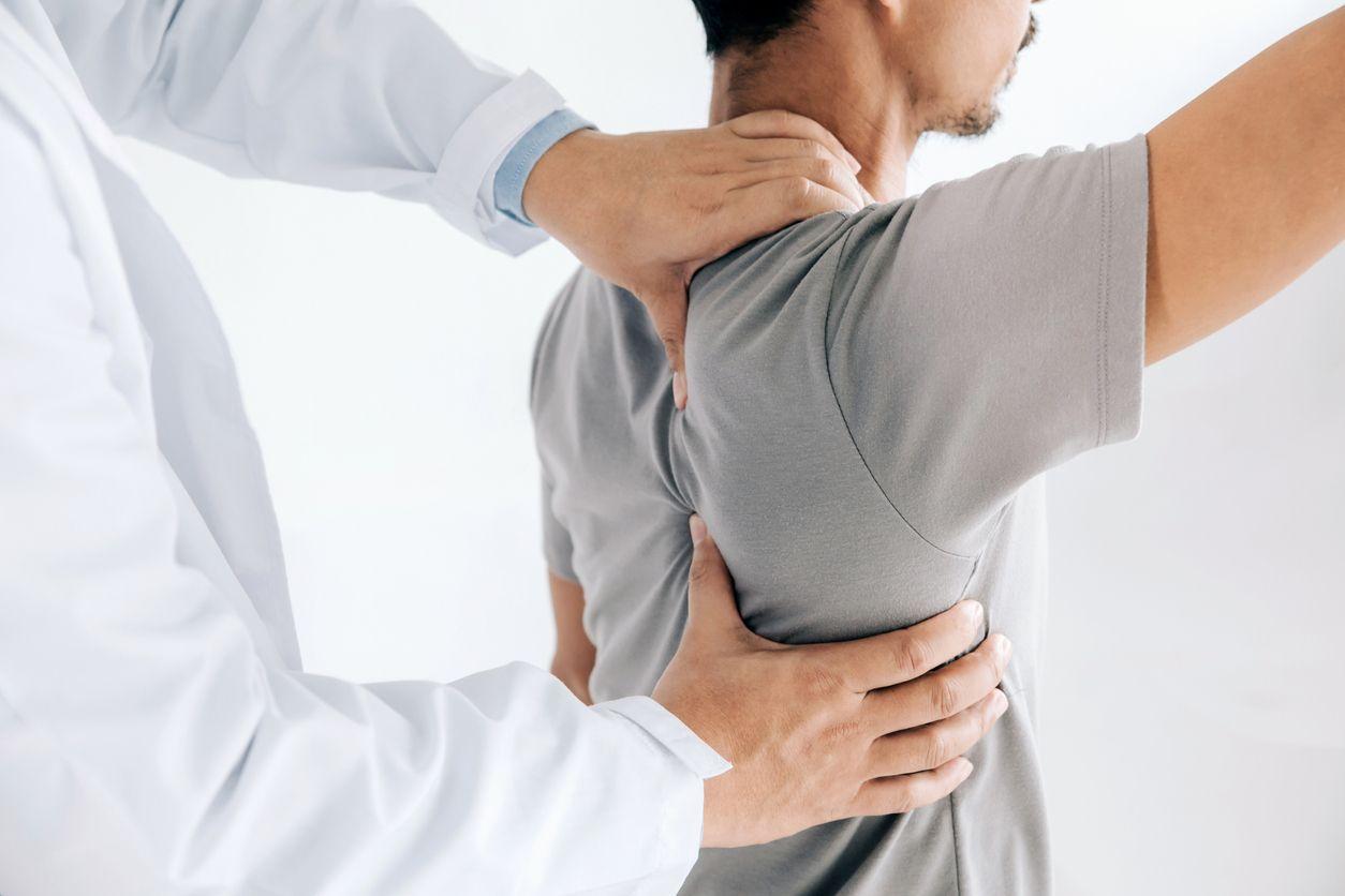 Mal de dos massage