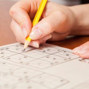 Un sodoku, l'option idéale pour se détendre et travailler sa mémoire.