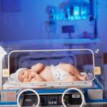 Un bébé à la maternité