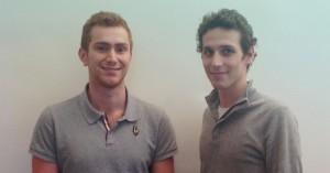 Aymeric Canton et Quentin Busuttil, fondateurs du site Buzeo.