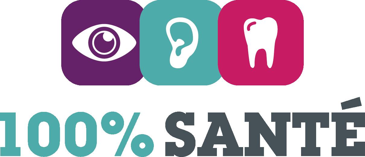 logo 100 % santé