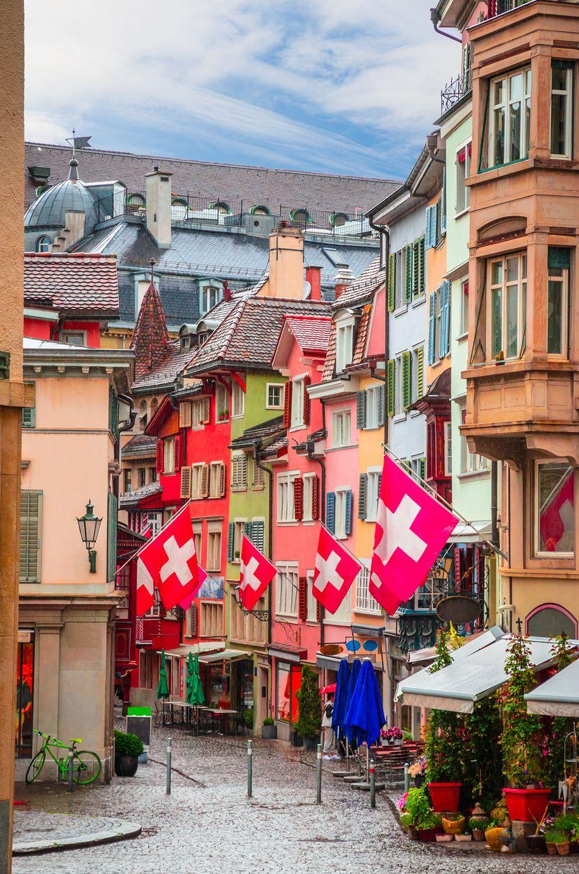 rue suisse frontière